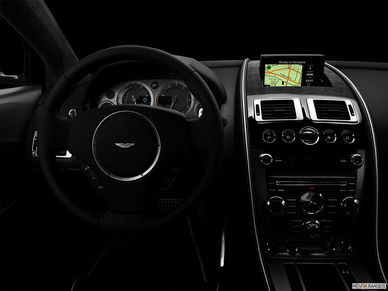 2014 Aston Martin Db9 Coupe Automatic Centered Wide Dash