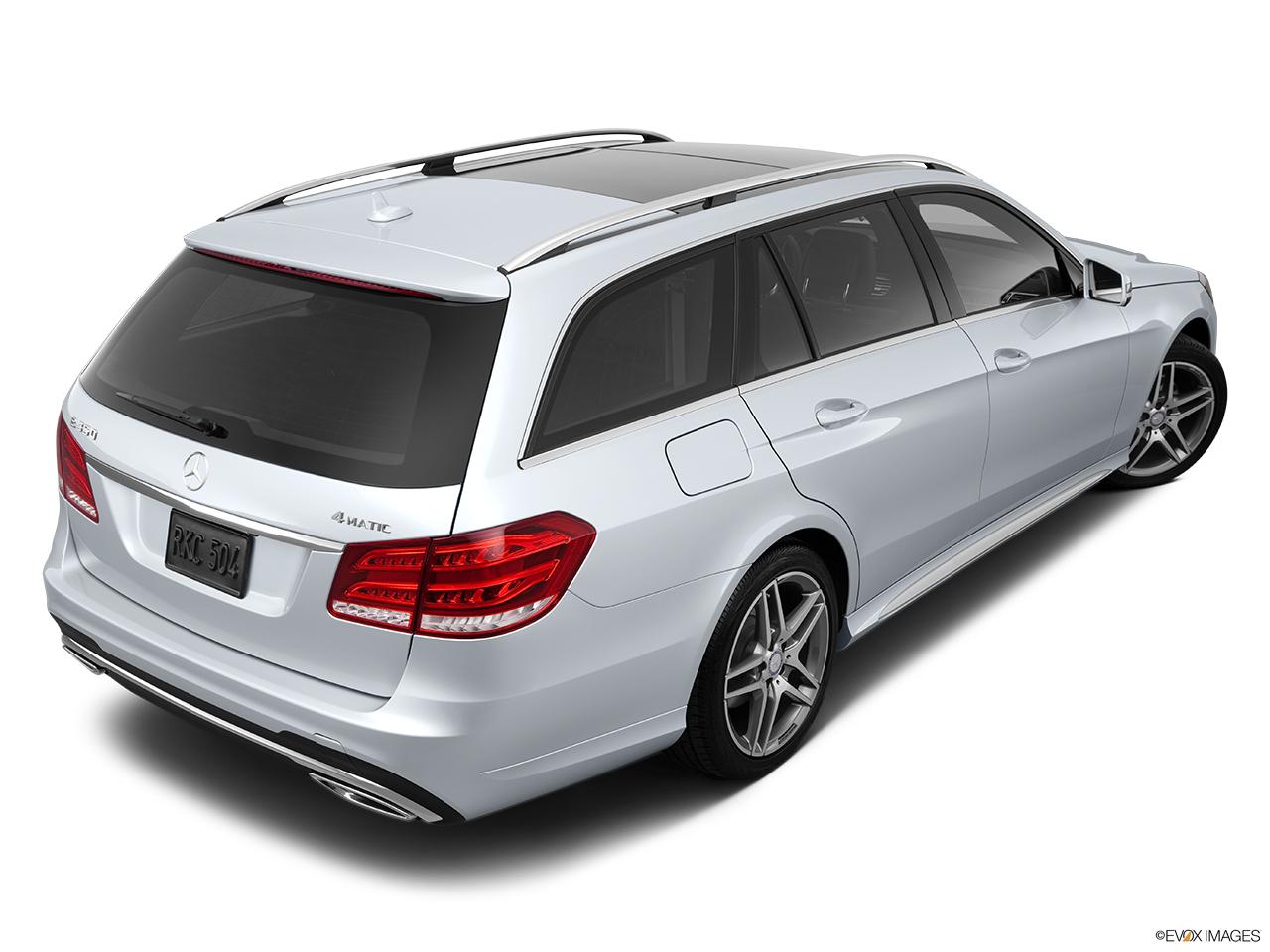 2014 mercedes benz e class wagon e63 amg 4matic rear 3 4