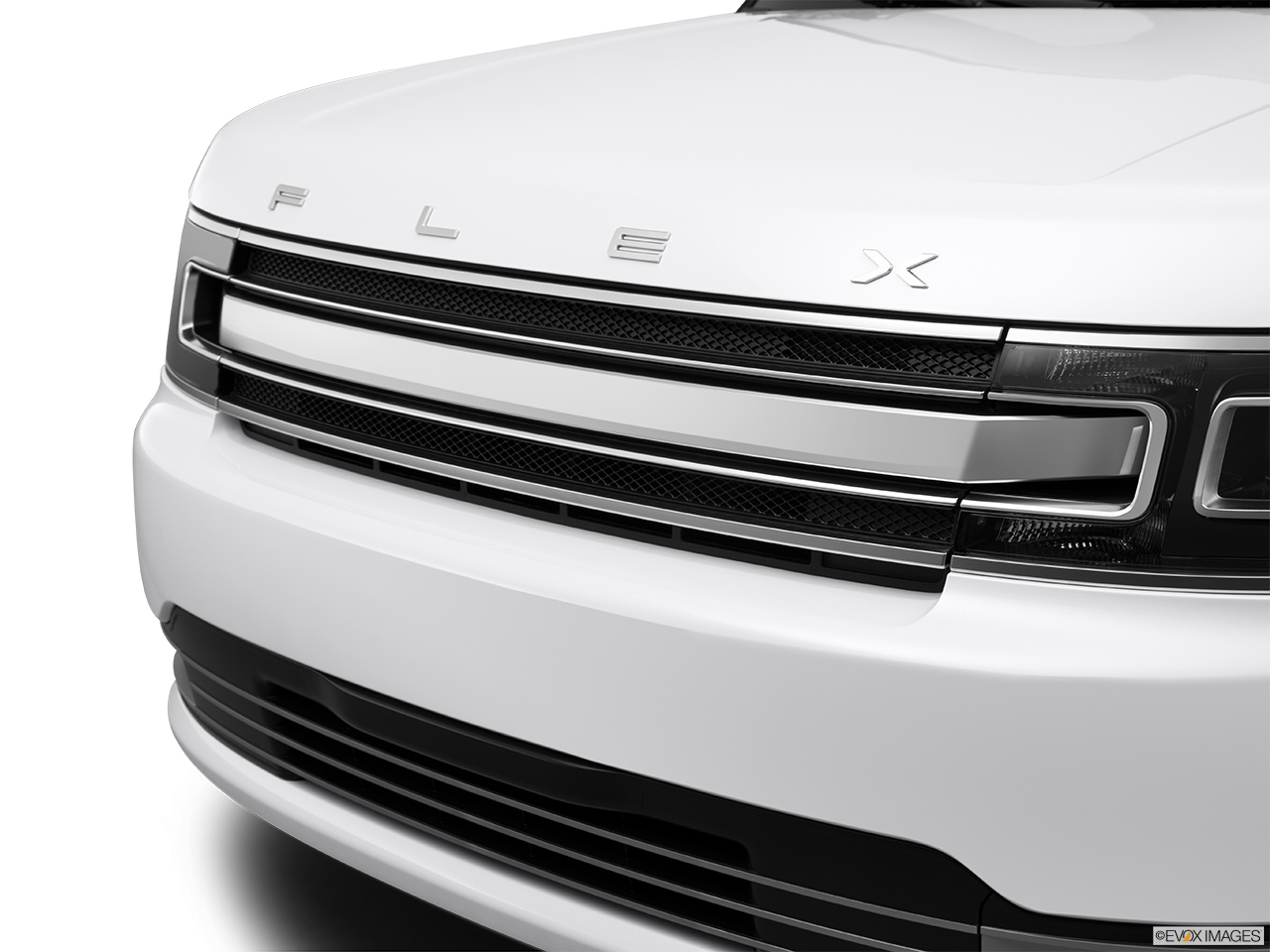 2015 Ford Flex 4 Door Limited Awd Close Up Of Grill