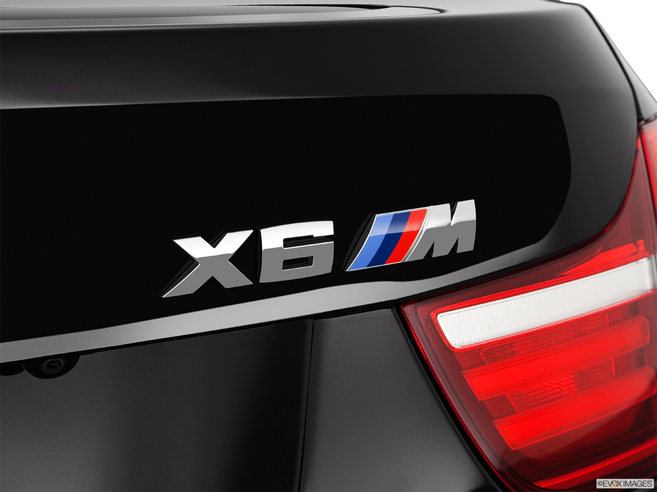 2015 Bmw X6 4 Door Xdrive50i Rear Model Badge Emblem