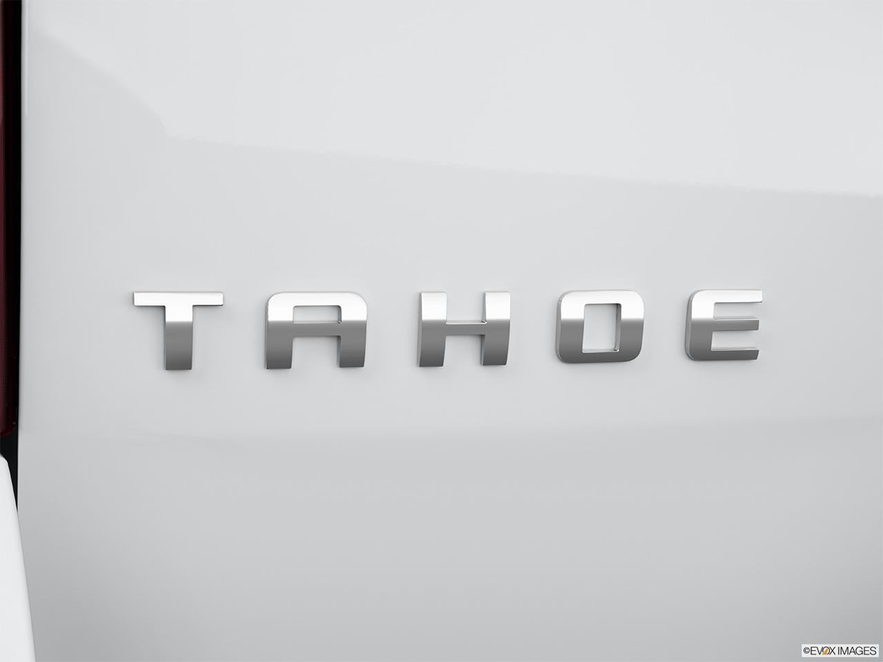2014 Chevy Tahoe >> 2014 Chevrolet Tahoe 2WD LS - Rear model badge/emblem