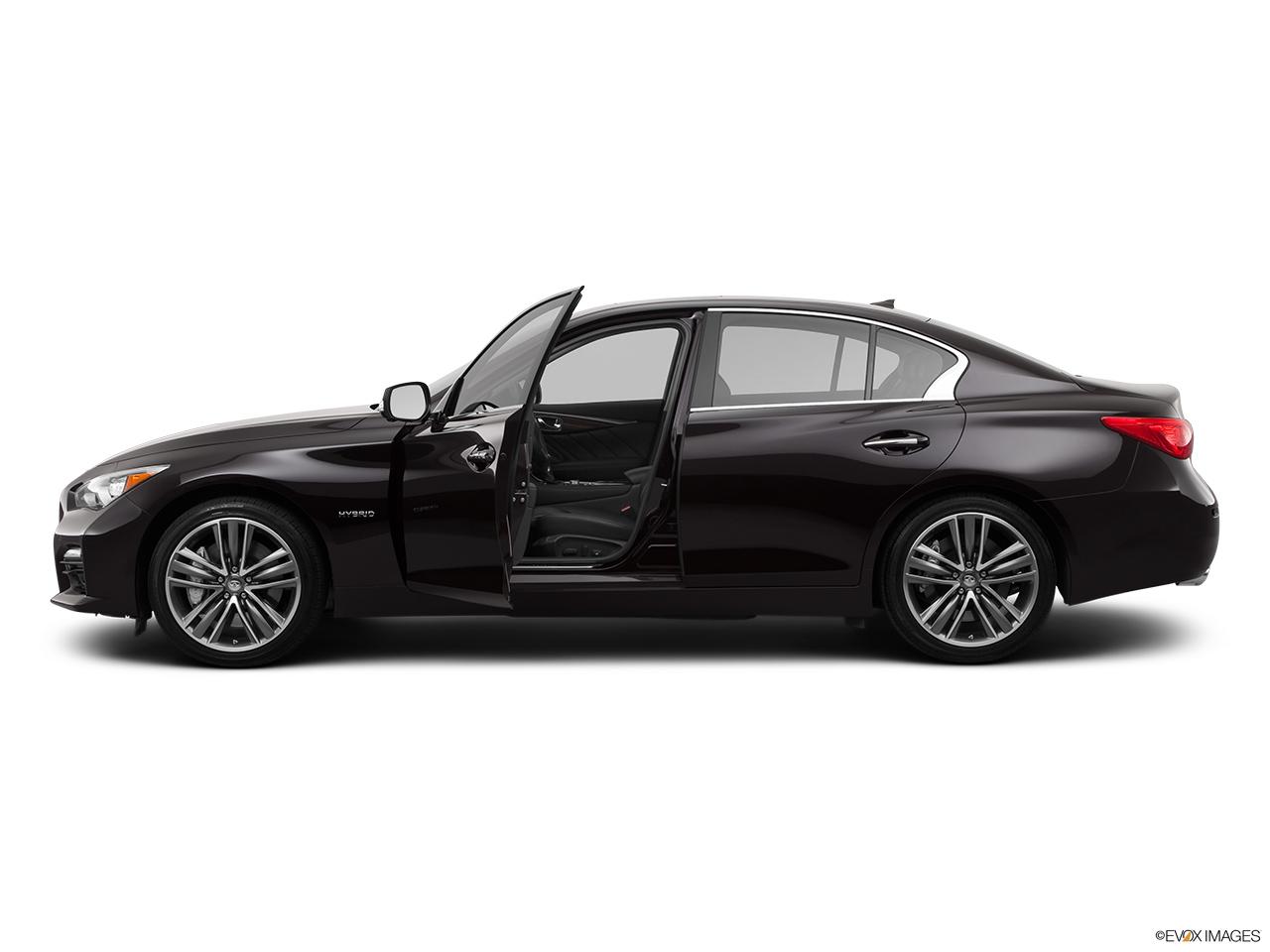 2014 Infiniti Q50 Sedan Rwd Hybrid Sport Driver S Side