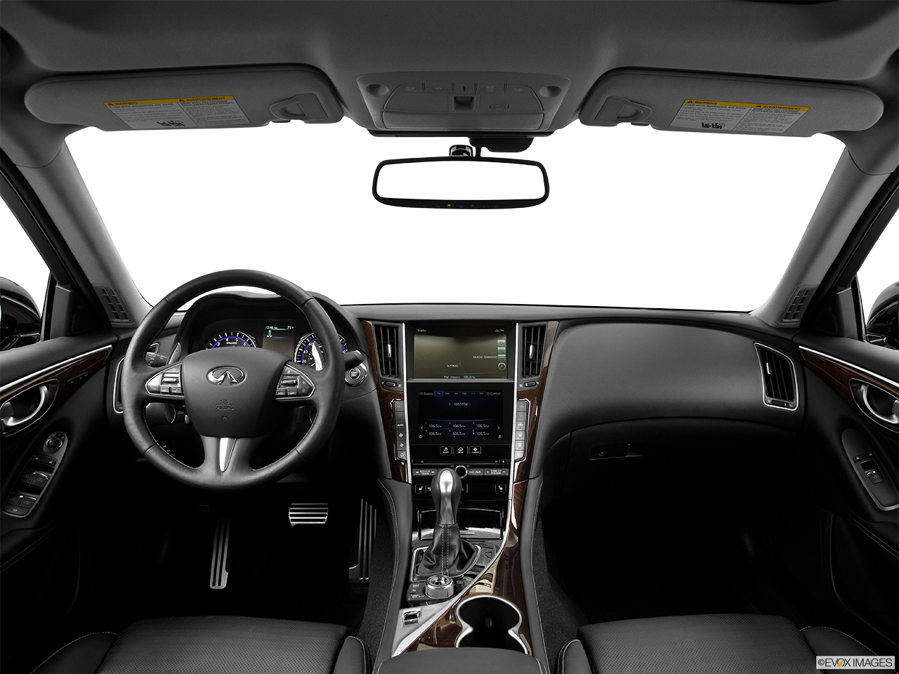8946st1280059g 2015 infiniti q50 sedan hybrid sport awd centered wide dash shot vanachro Image collections
