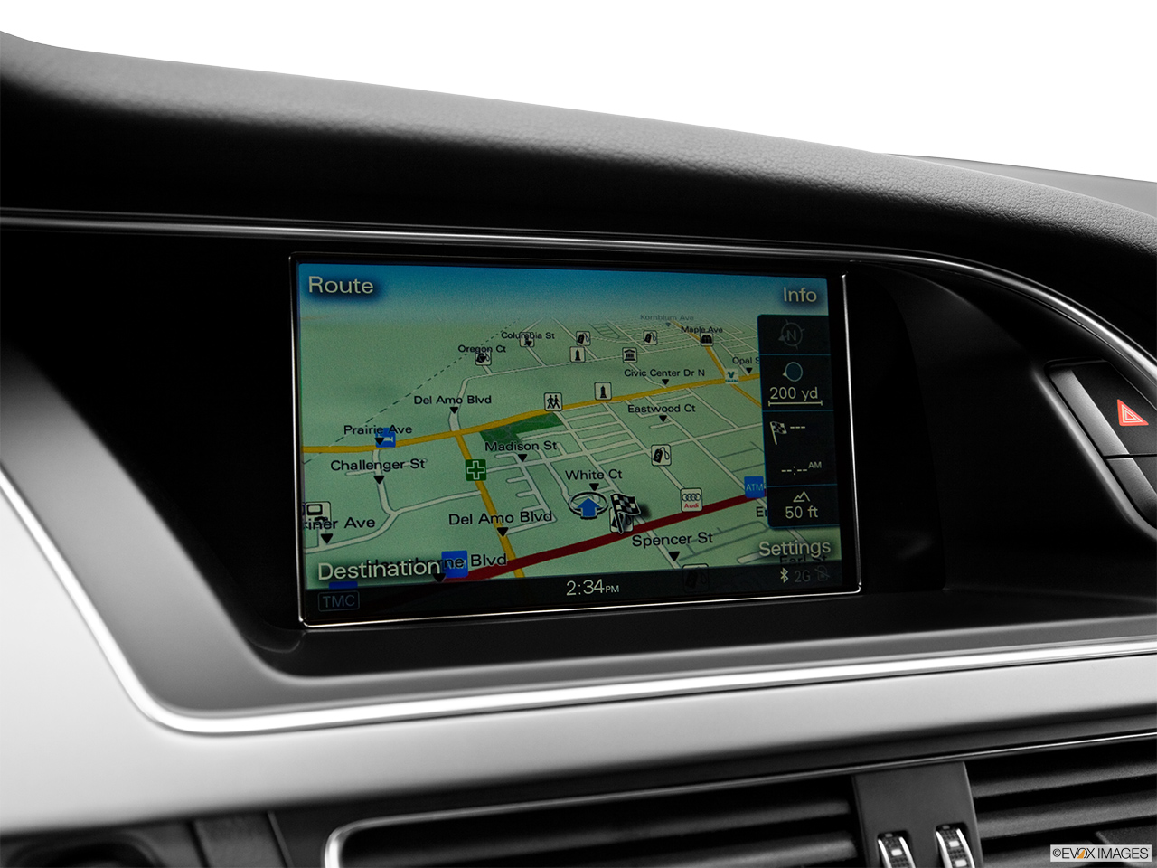2015 Audi S5 Coupe Manual Prestige - Driver position view of navigation  system