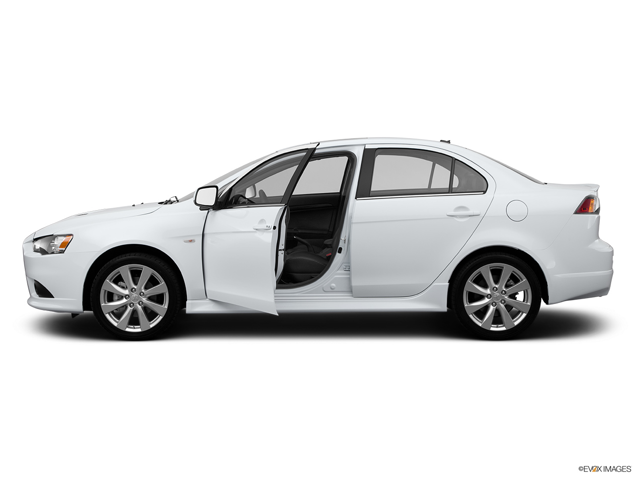 2014 Mitsubishi Lancer Sedan Manual Gt Fwd Driver S Side
