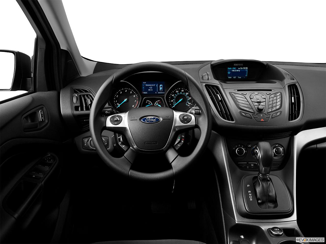 Ford Escape Titanium >> 2014 Ford Escape FWD S - Steering wheel/Center Console