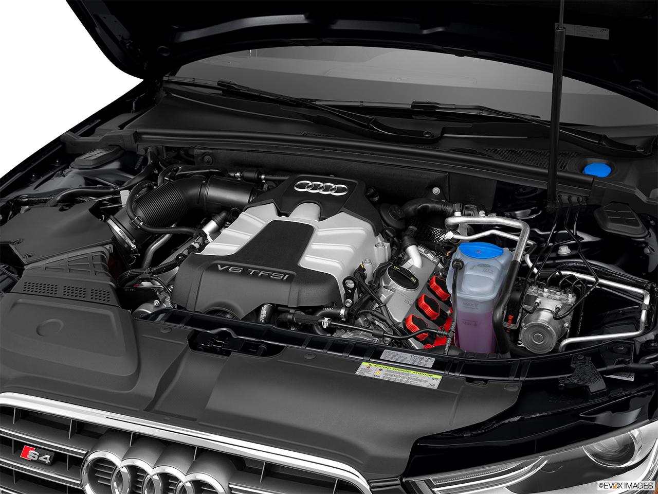 2015 Audi S4 Sedan Manual Prestige Engine