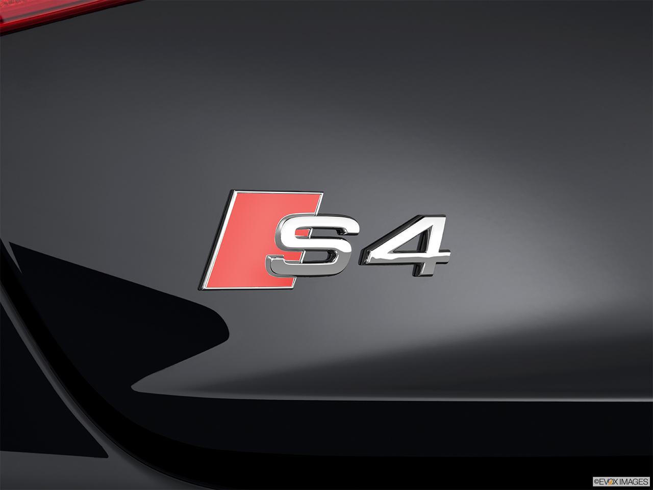 2015 Audi S4 Sedan Manual Prestige Rear Model Badge Emblem
