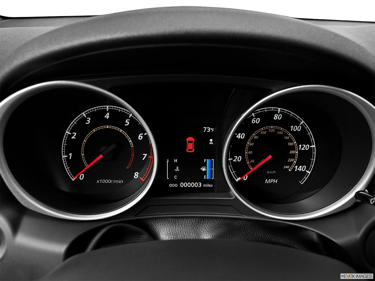 2014 Mitsubishi Outlander Sport AWD CVT ES - Speedometer ...