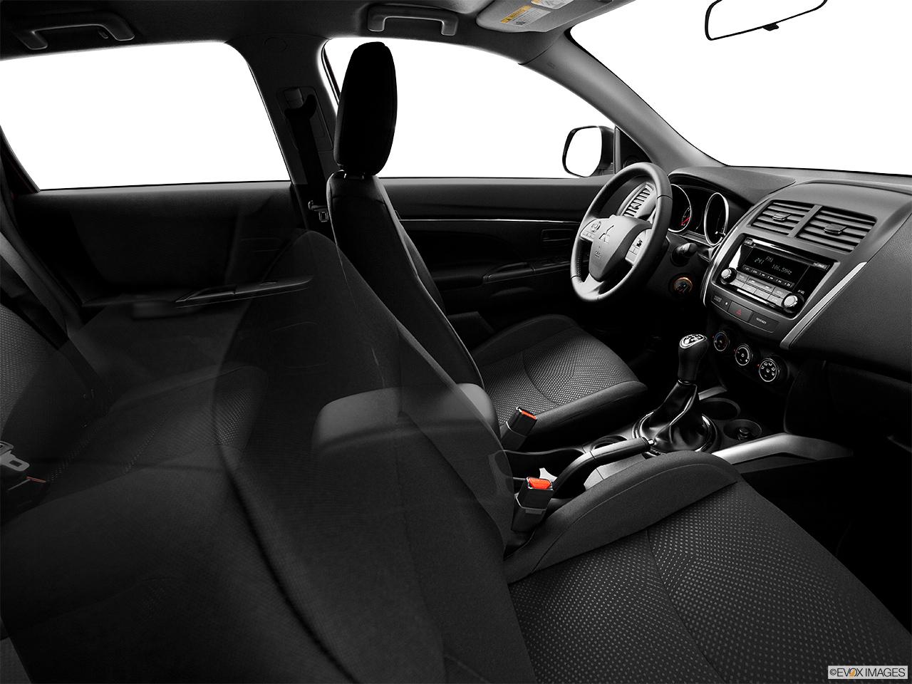 2014 mitsubishi outlander sport awd cvt es fake buck shot interior from passenger b