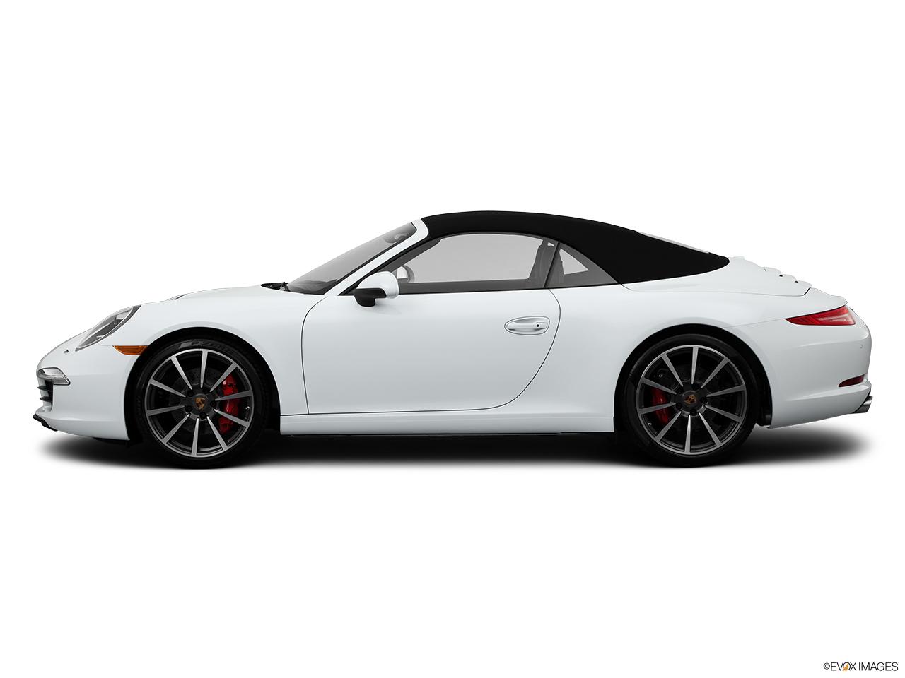 2015 porsche 911 2 door cabriolet carrera s drivers side profile convertible top up