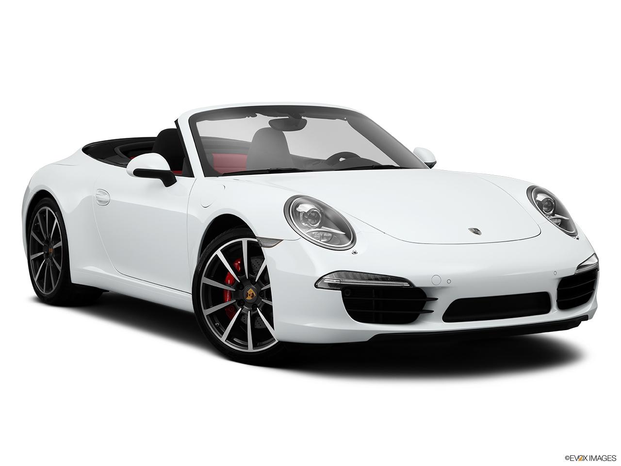 2015 porsche 911 2 door cabriolet carrera s front passenger 34 w