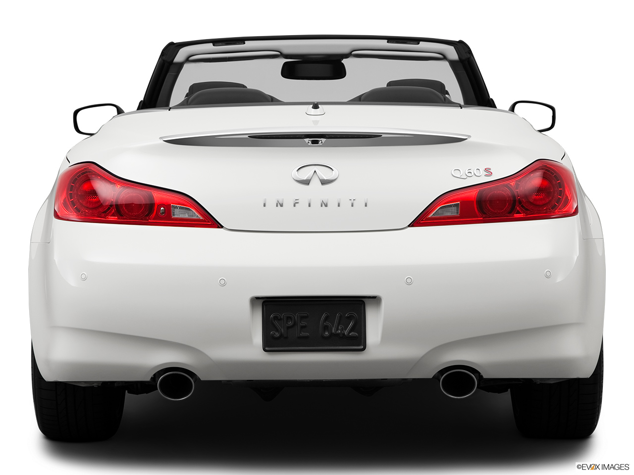Marvelous 2014 Infiniti Q60 Convertible 2 Door Sport   Low/wide Rear