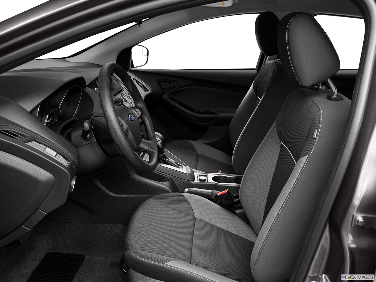 2014 ford focus sedan s front seats from drivers side - Ford Focus 2014 Sedan Interior