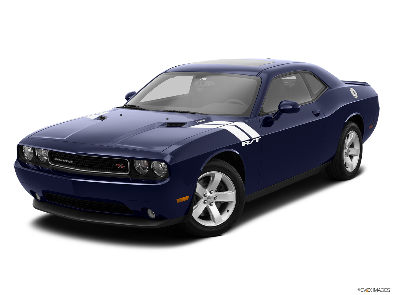 2014 Dodge Challenger Coupe R/T - Front angle view