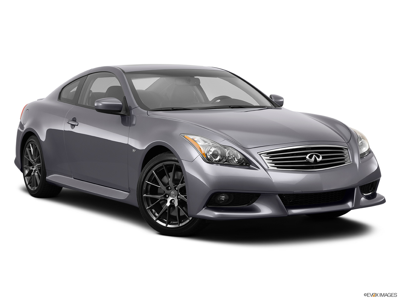 2014 Infiniti Q60 Coupe 2 Door Manual Ipl Rwd Front Angle View
