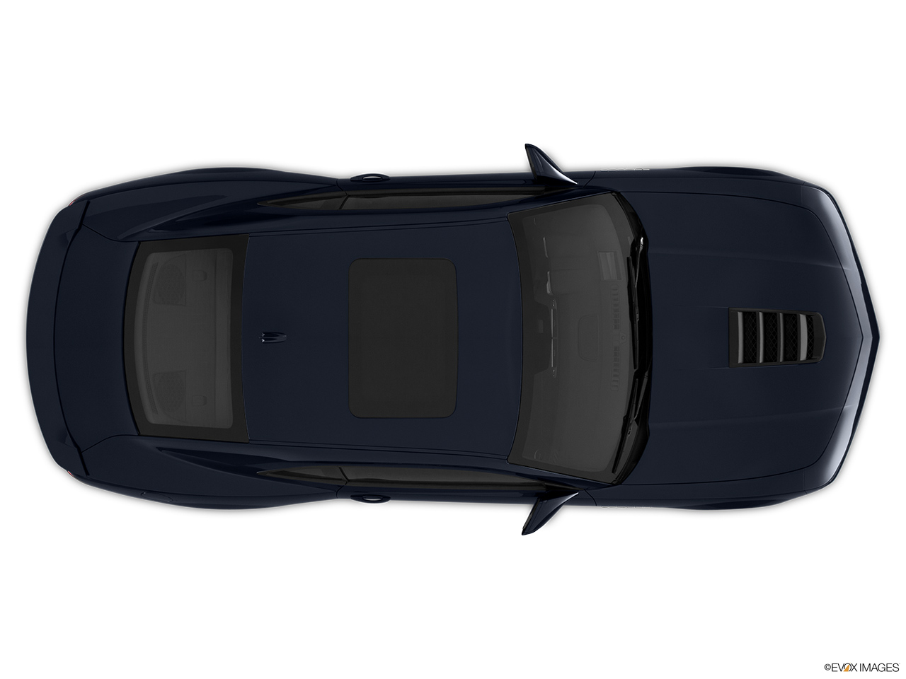 2015 Chevrolet Camaro Ss W 2ss Coupe Overhead