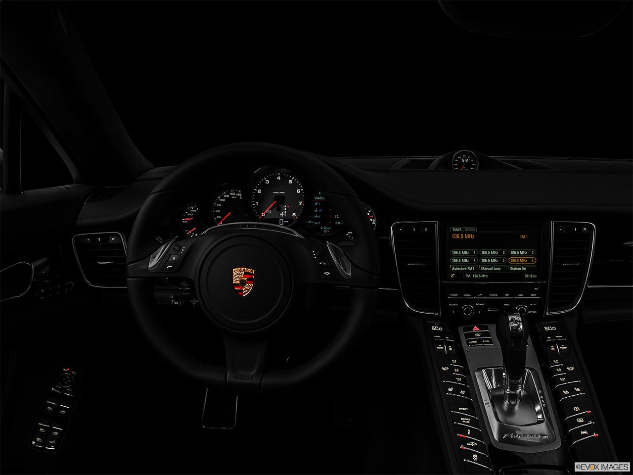2014 porsche panamera interior car tuning - 2014 Porsche Panamera 4dr Hatchback 4s Executive Centered Wide Dash Shot Night