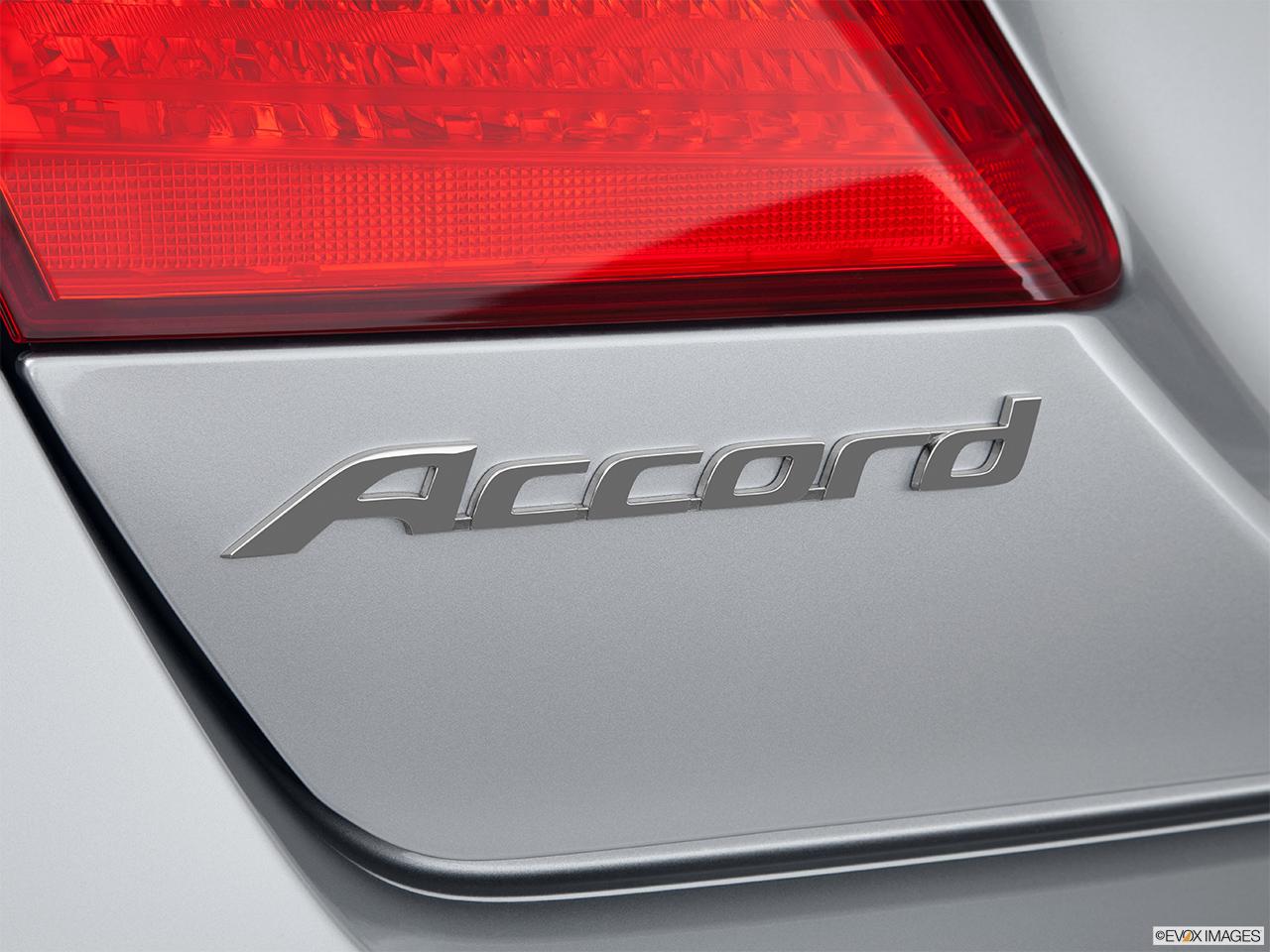 2015 Honda Accord Sedan I4 Manual Sport Rear Model Badge