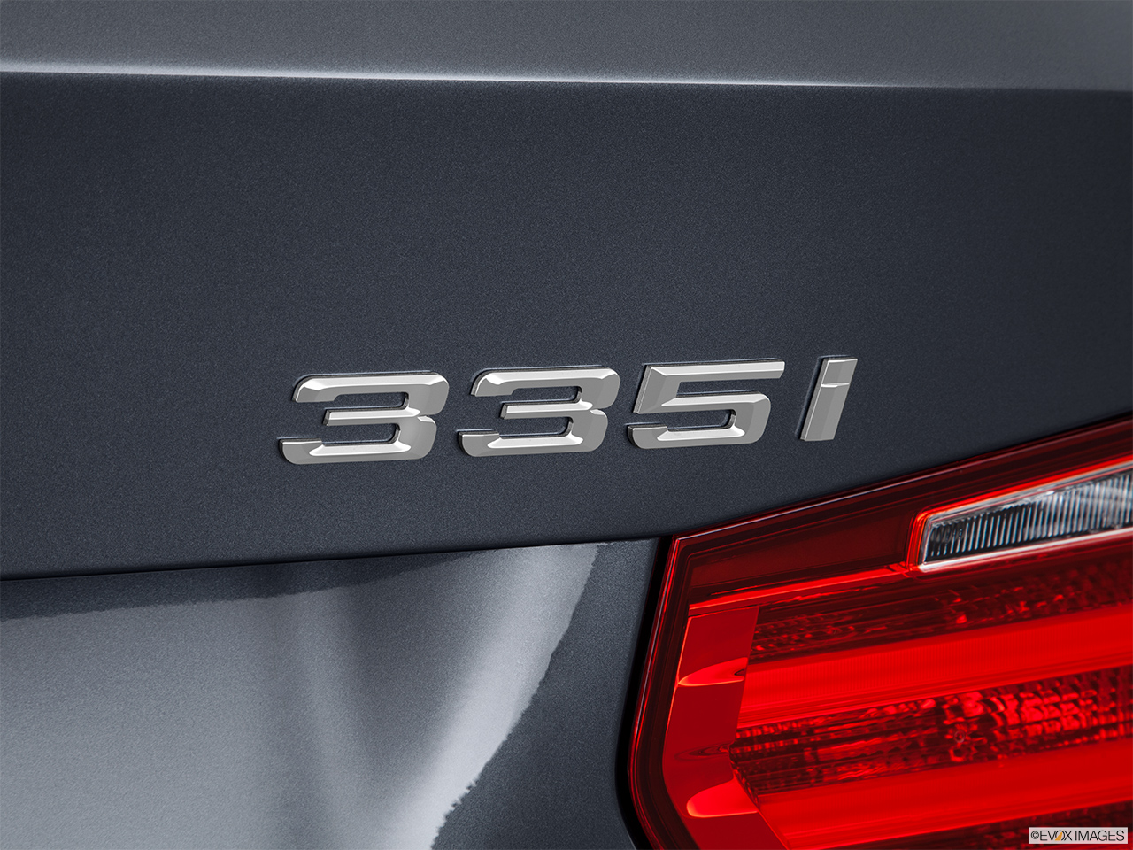 2015 Bmw 3 Series Sedan 335i Xdrive Awd Rear Model Badge