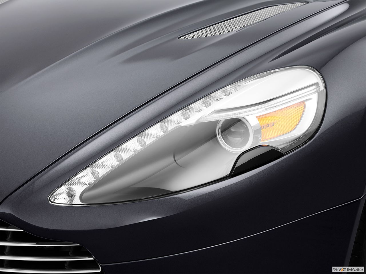 Aston Martin Vanquish Coupe Front Angle View Aston - Aston martin headlights