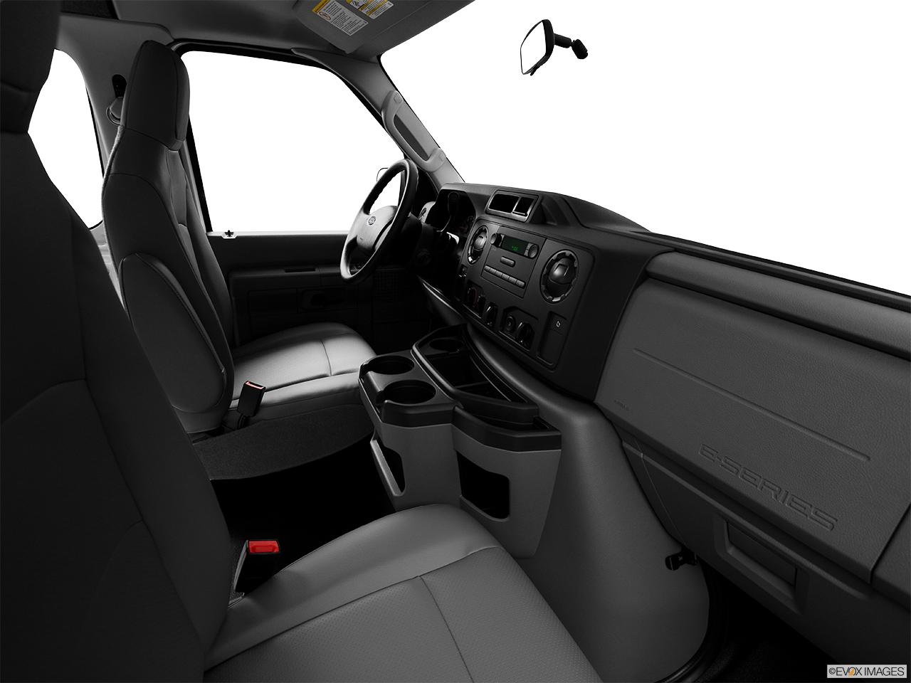 Ford Passenger Van >> 2014 Ford Econoline Cargo Van E-150 Commercial - Fake Buck Shot - Interior from Passenger B pillar