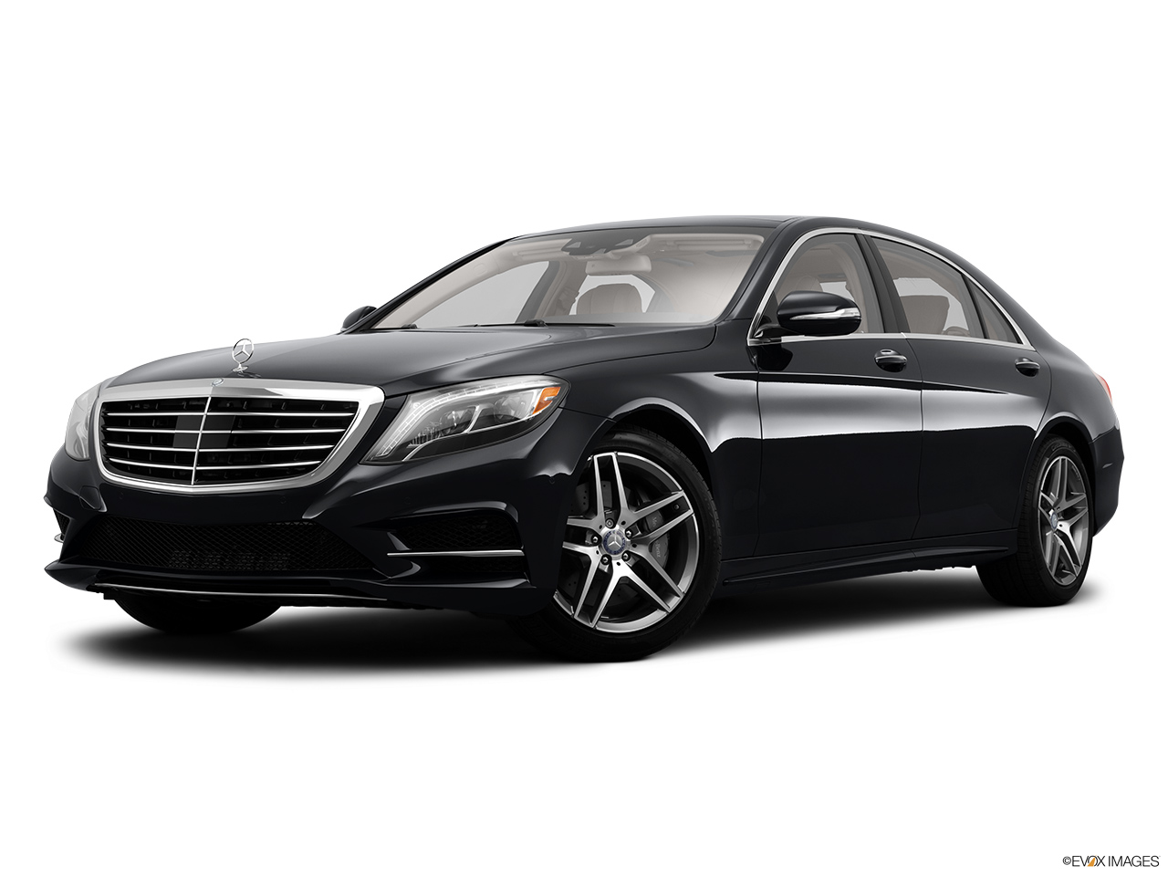 2014 Mercedes Benz S Class Sedan S63 Amg Rwd Front Angle