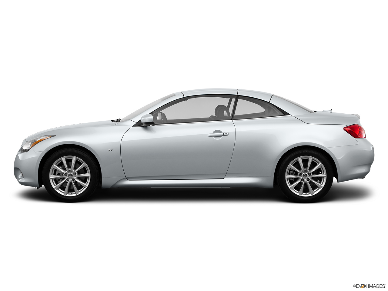 2 Door Convertible >> 2015 Infiniti Q60 Convertible 2 Door - Drivers side profile, convertible top up (convertibles only)