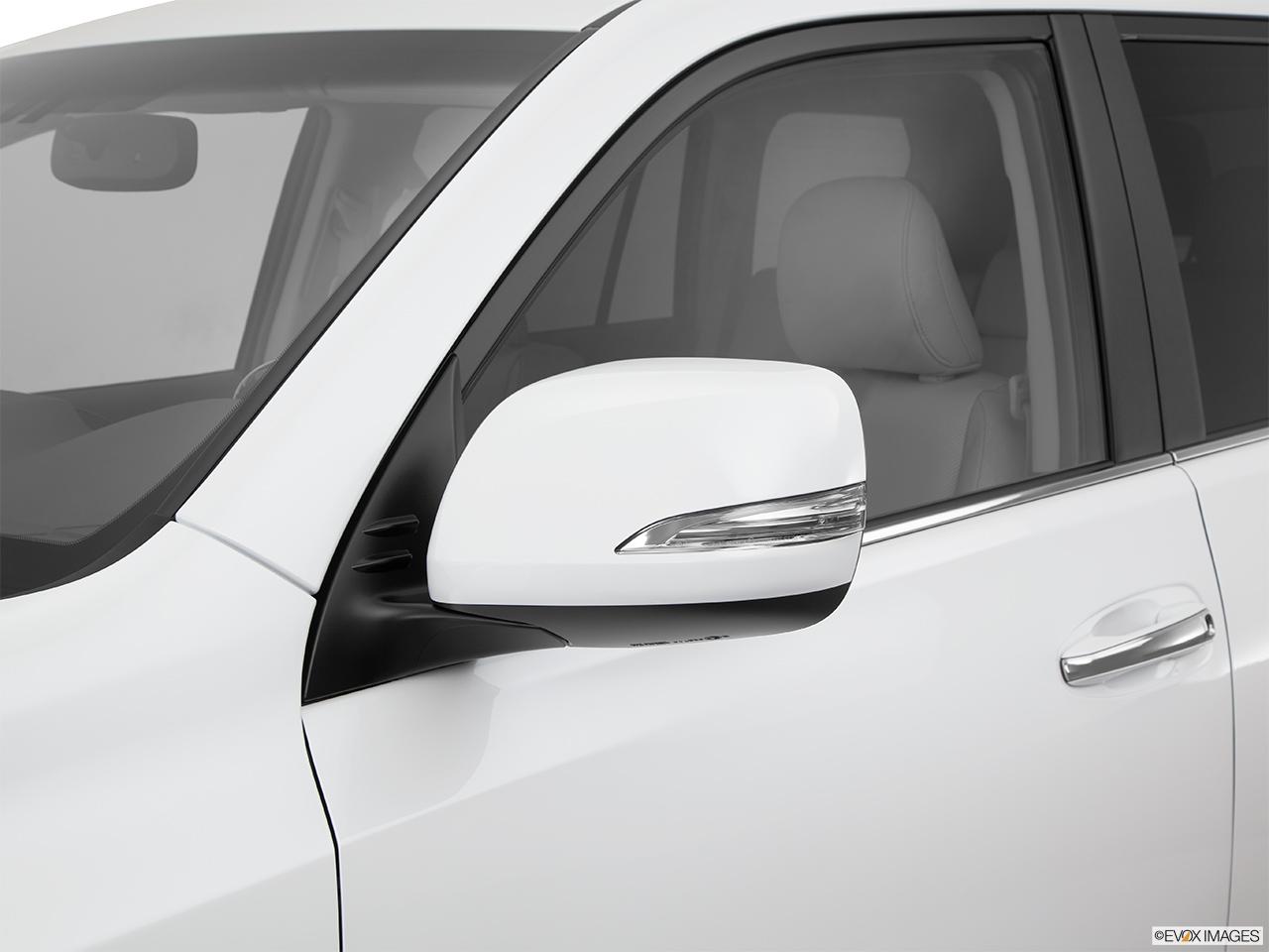 2014 Lexus Gx 460 4wd Driver S Side Mirror Rear