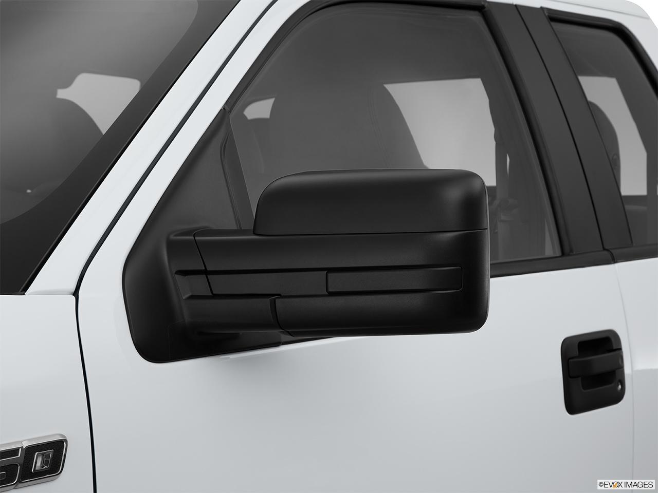 Ford F  Wd Supercab  Xl Drivers Side Mirror Rear