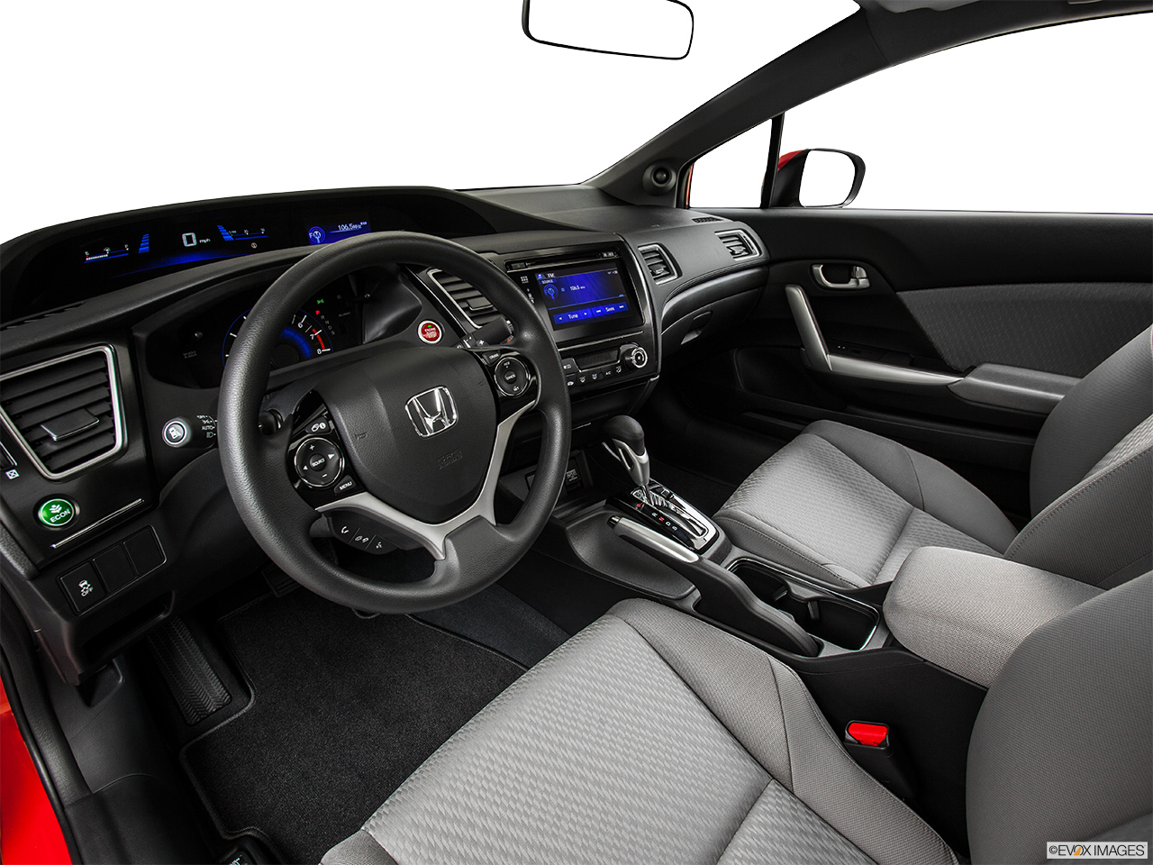 2015 Honda Civic Coupe Manual EX - Interior Hero (driver's side)