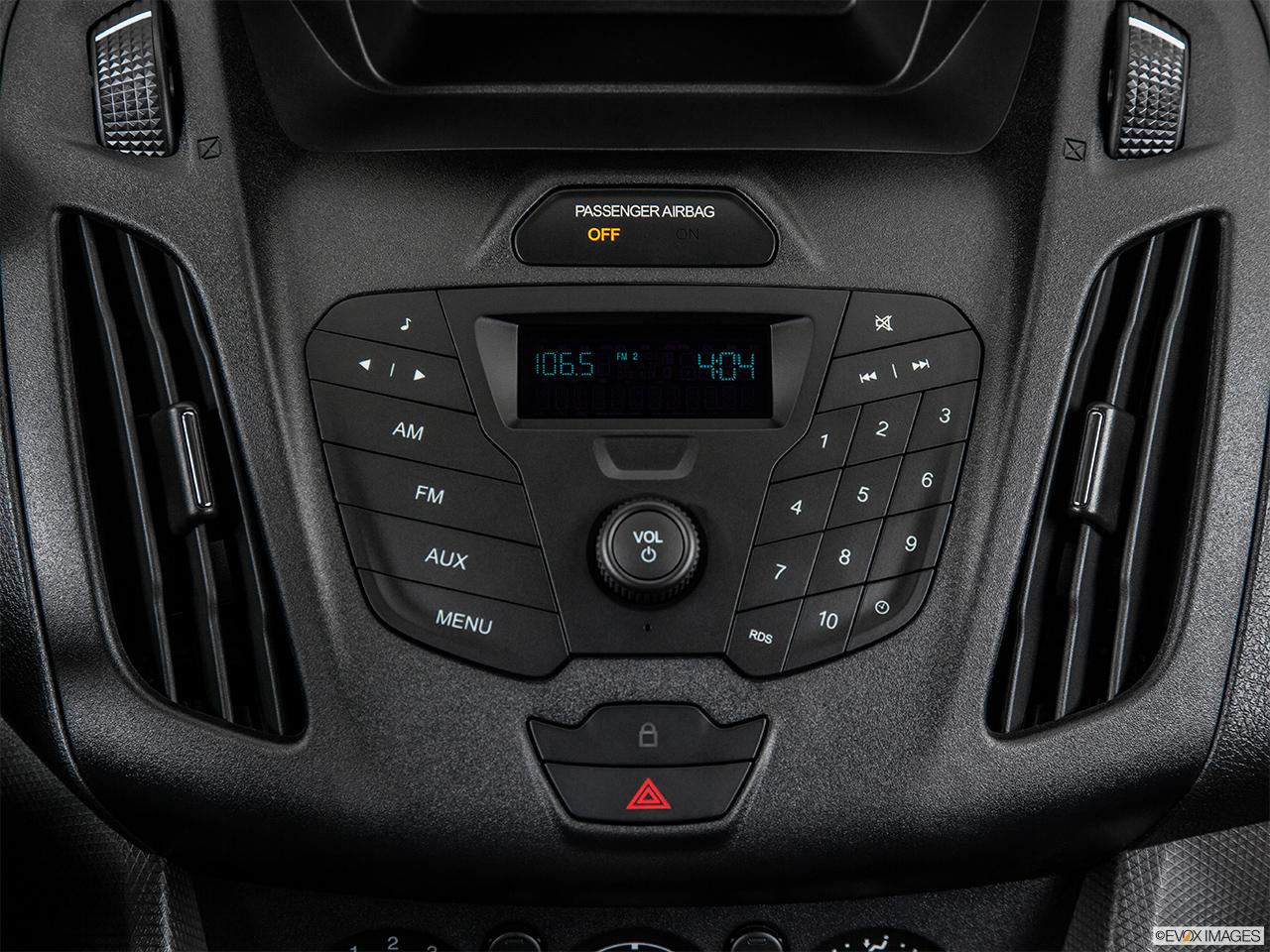 Ford Transit Wagon >> 2014 Ford Transit Connect Wagon Wagon LWB XL - Closeup of ...