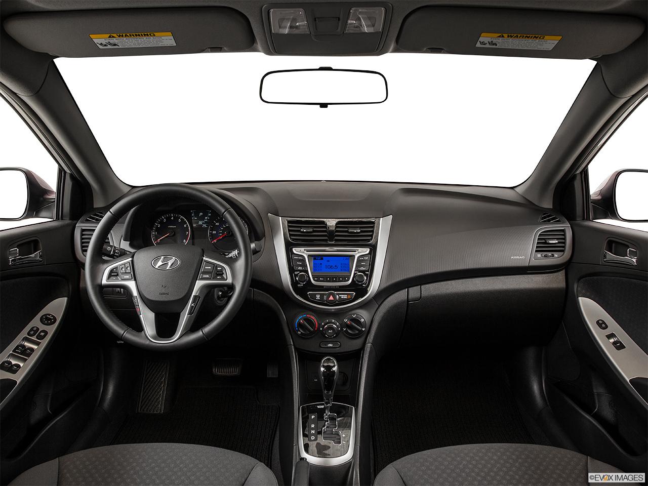2015 Hyundai Accent 5 Door Manual Sport Hatchback - Centered wide dash shot