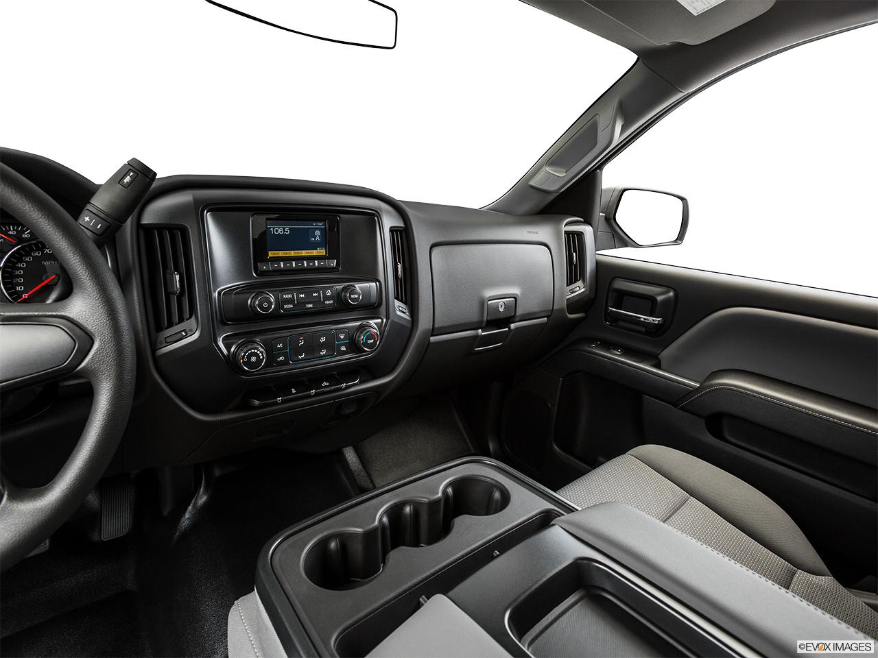2015 Chevrolet Silverado 2500hd 4wd Reg Cab 1336 Work Truck Chevy Center Console Passenger Side