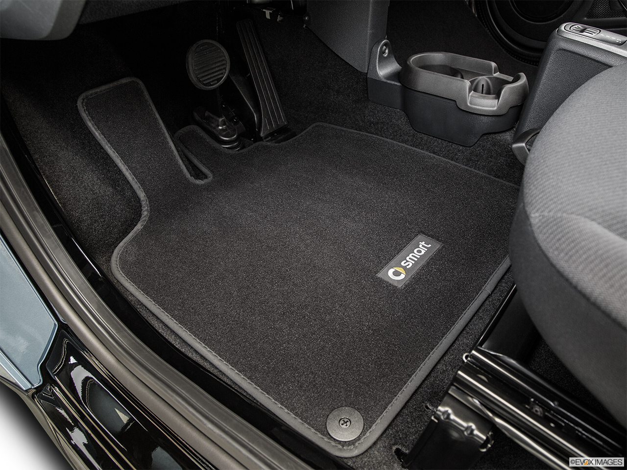 2014 Smart Fortwo Coupe Pure Driver S Floor Mat And