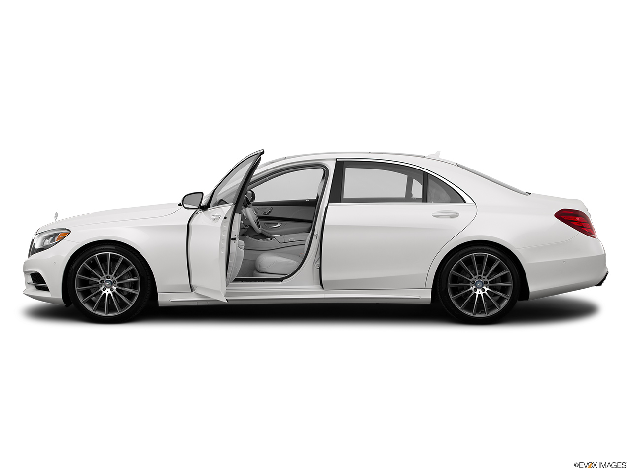 2015 mercedes benz s class sedan s550 rwd drivers side profile with drivers