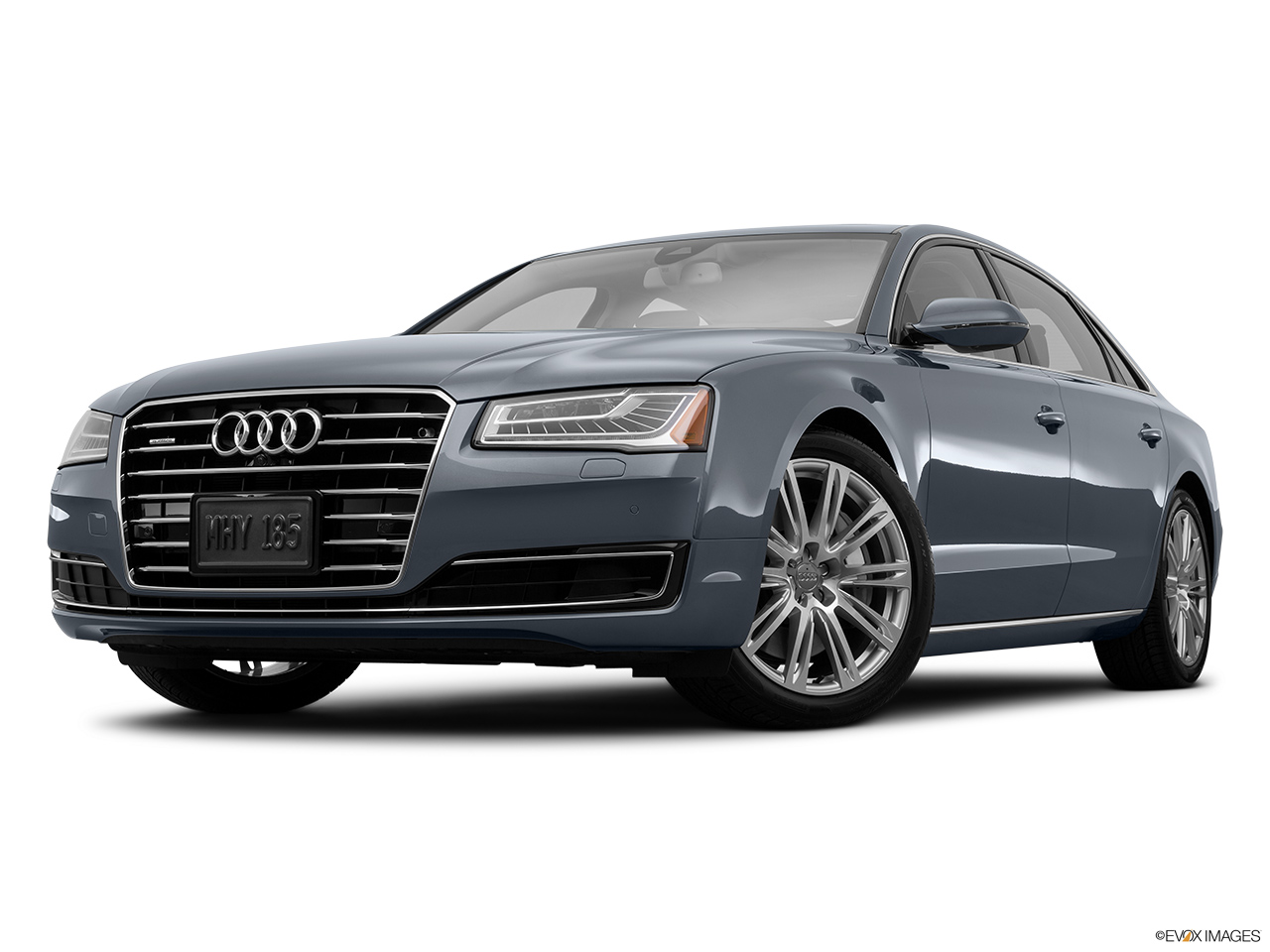 2015 Audi A8 L Sedan 6 3l Front Angle View Low Wide