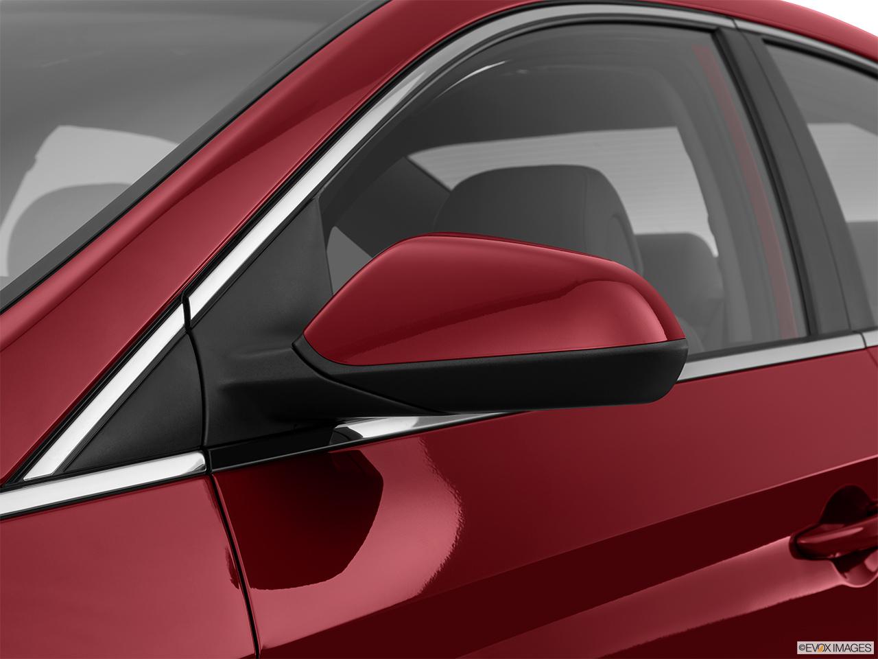 Sports Car Side Mirrors : Hyundai sonata dr sedan l sport driver s side