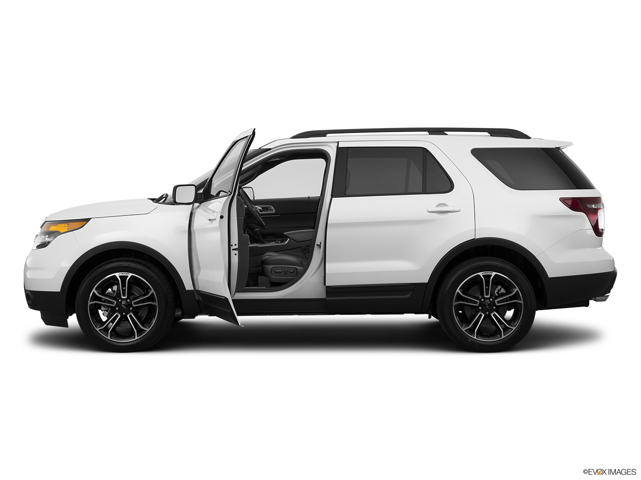 Suv >> 2015 Ford Explorer 4WD 4 Door Sport - Driver's side profile with drivers side door open