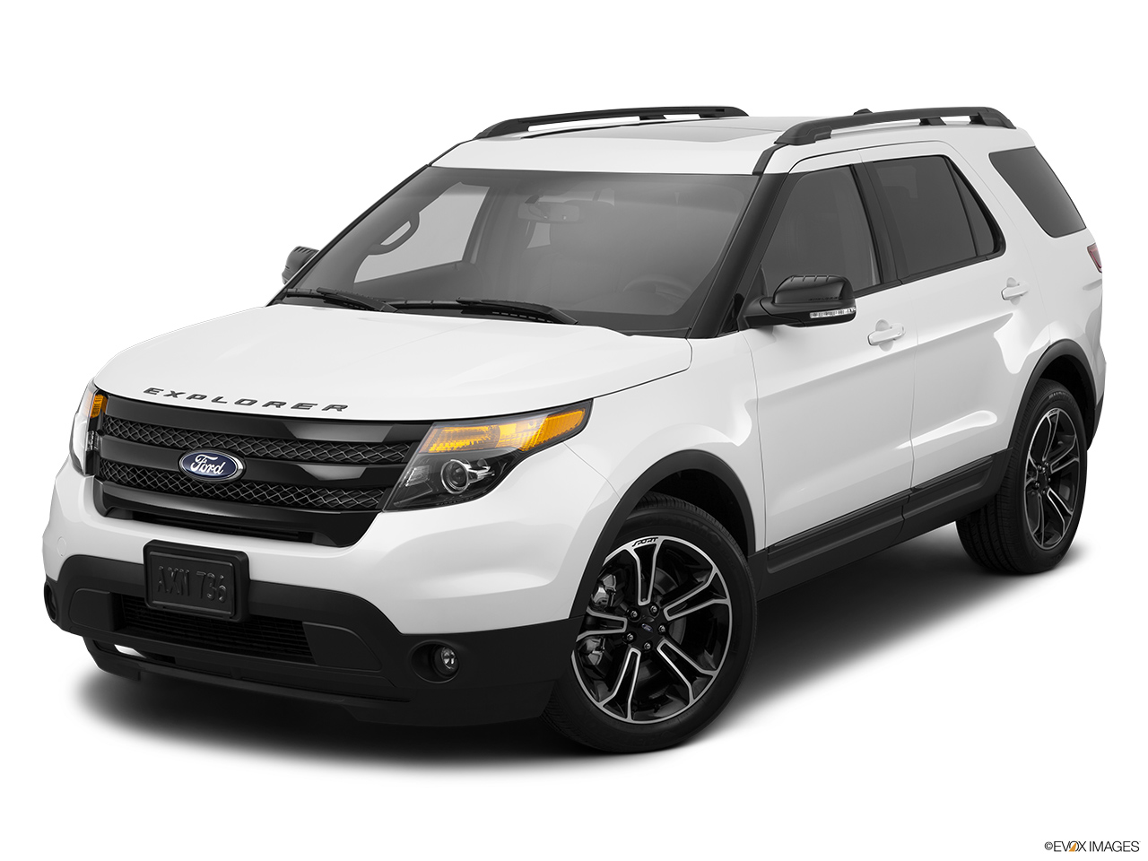 2015 ford explorer 4wd 4 door sport front angle view - 2016 Ford Explorer Sport White