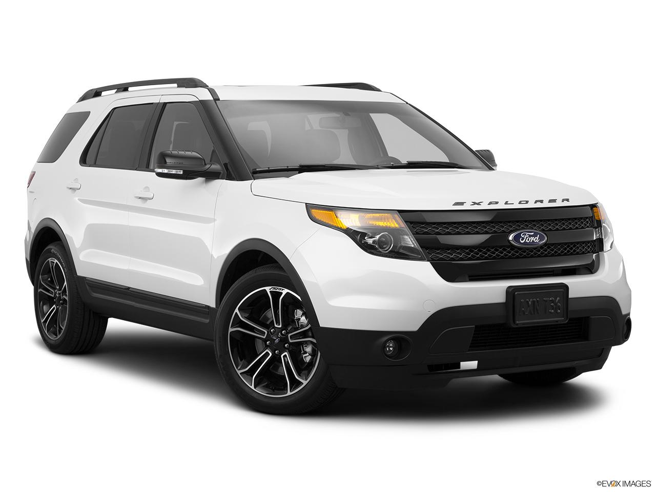 2015 ford explorer 4wd 4 door sport front passenger 34 w wheels
