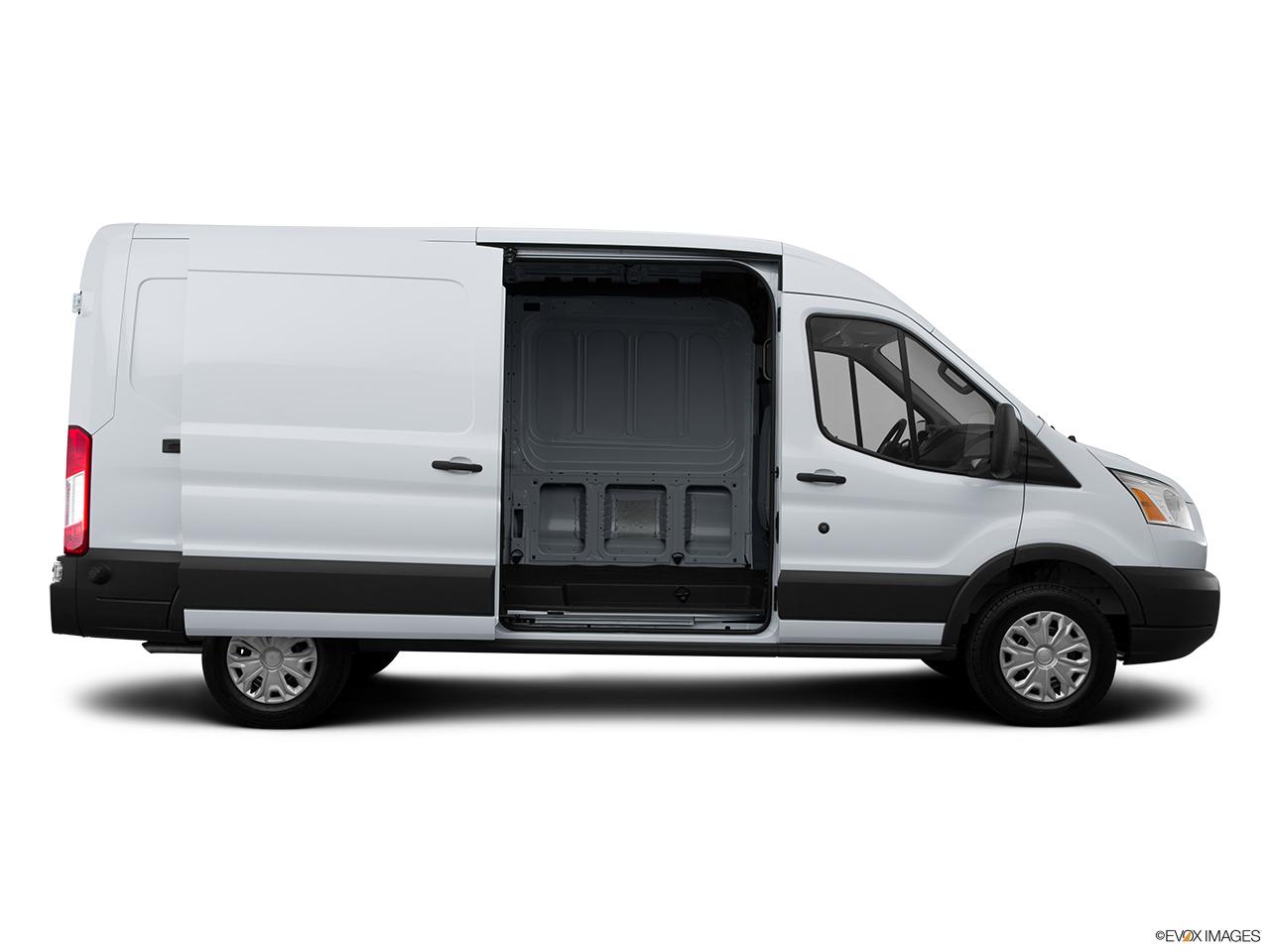 Ford Transit Cutaway >> 2015 Ford Transit Cutaway T-250 156 9000 GVWR SRW - Passenger's side view, sliding door open ...