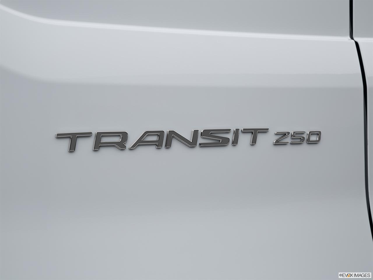 Ford Transit Cutaway >> 2015 Ford Transit Cutaway T-250 156 9000 GVWR SRW - Rear model badge/emblem