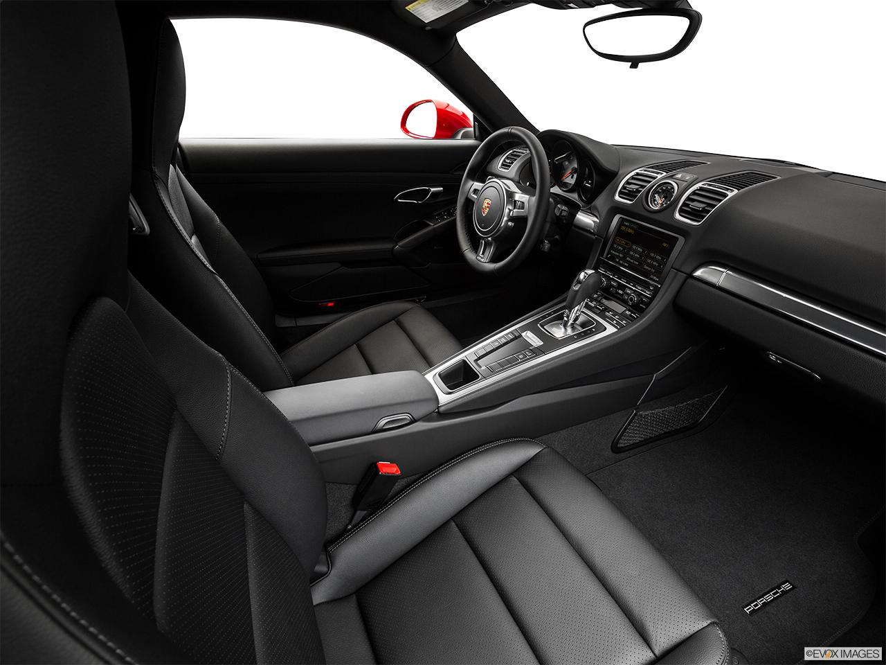 2015 porsche cayman gts coupe fake buck shot interior from passenger b pillar