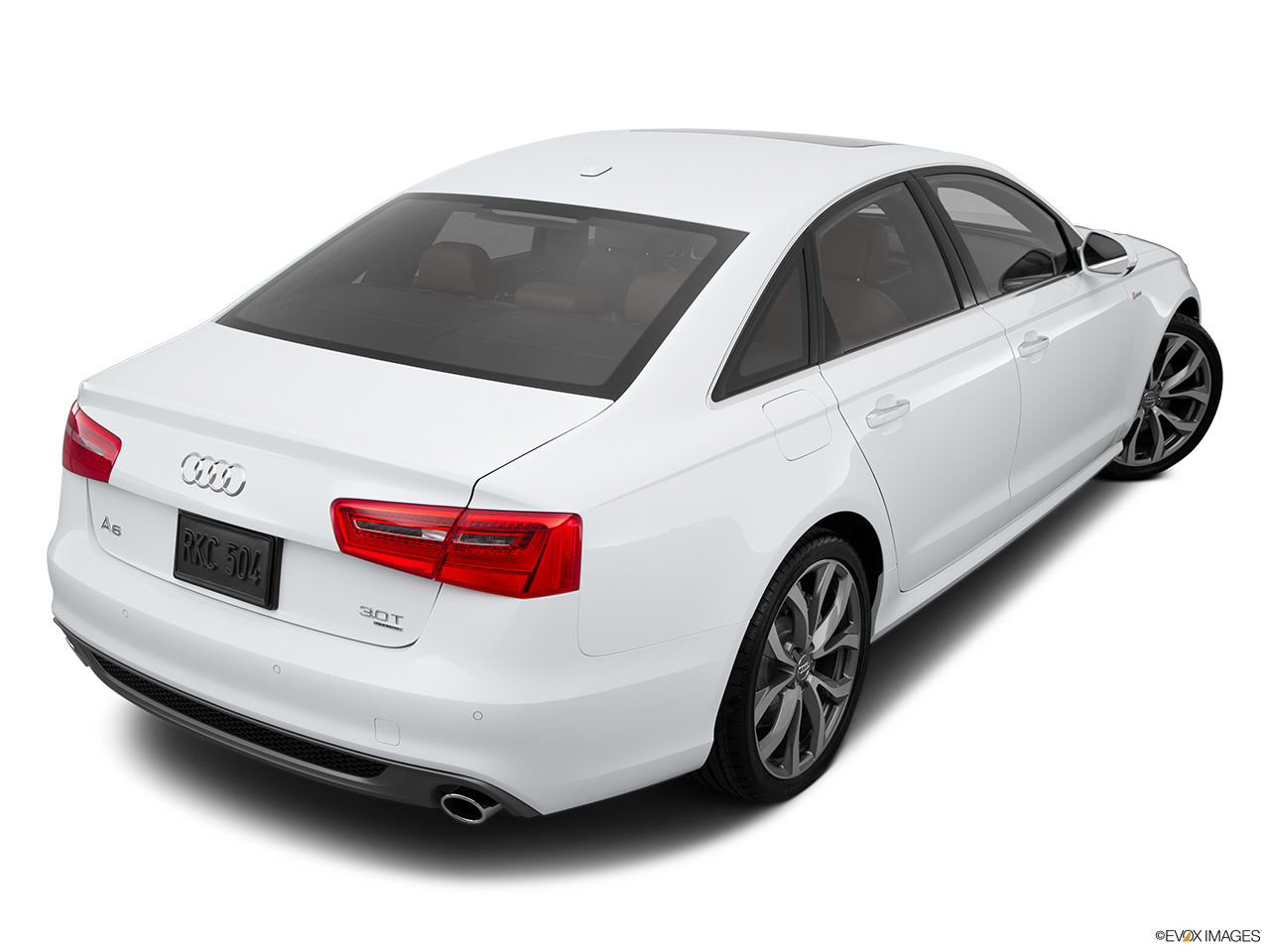 2015 Audi A6 Sedan Quattro 3 0t Premium Plus Rear 3 4