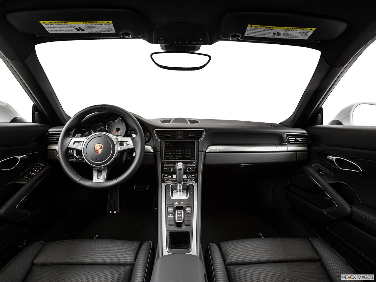 2015 porsche 911 2 door targa 4 centered wide dash shot