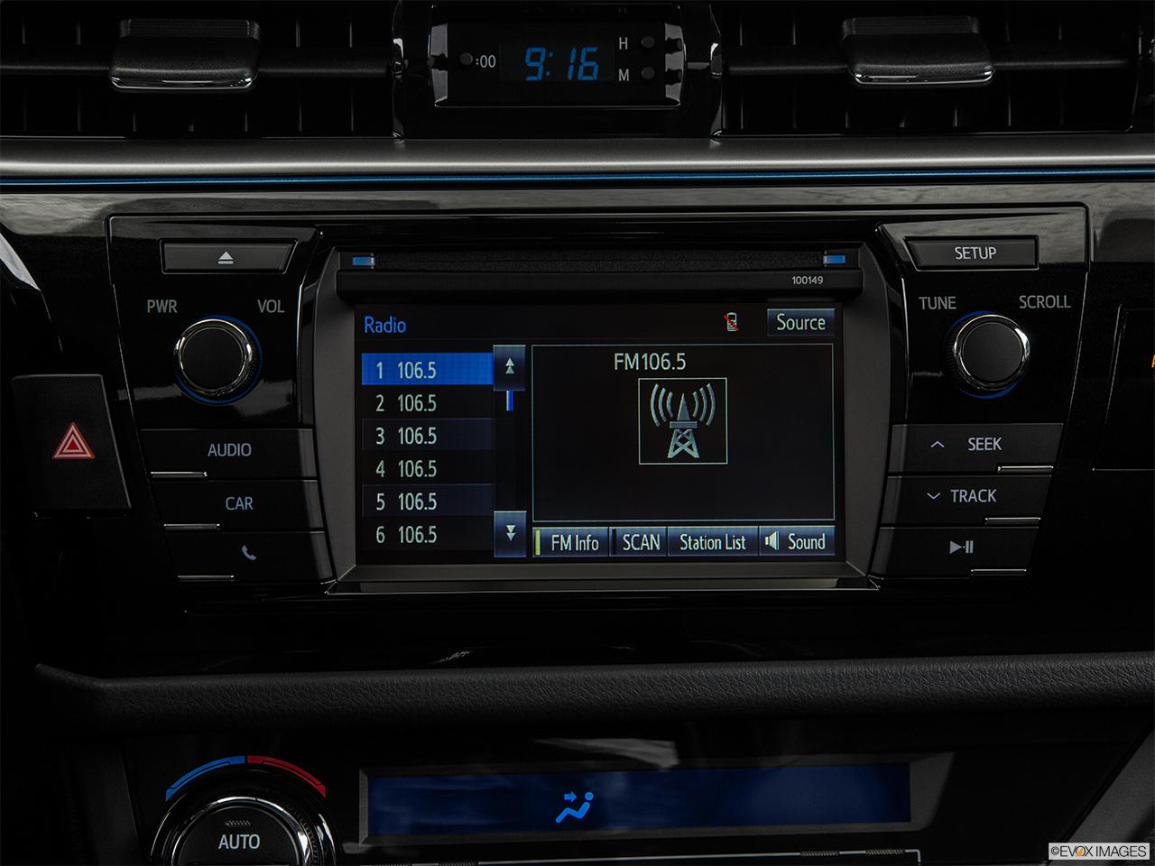 2015 toyota corolla radio manual