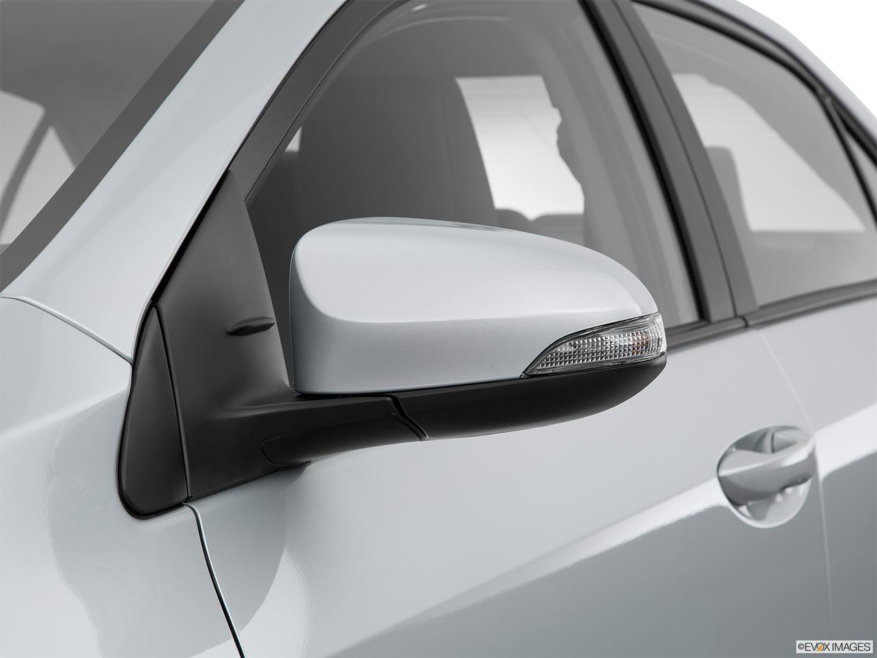 2015 Toyota Corolla 4dr Sedan Cvt S Front Angle View 2015 Toyota