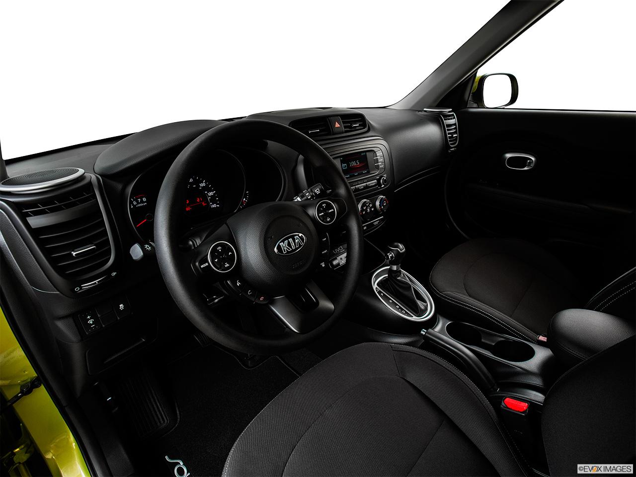 2015 kia soul base interior. 2015 kia soul 5 door auto base wagon interior hero driveru0027s side