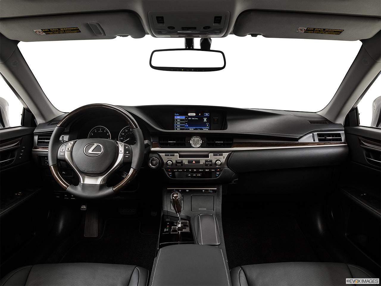 lexus 2015 sedan interior. 2015 lexus es 350 sedan centered wide dash shot interior
